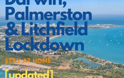 Stay at home; Darwin, Palmerston & Litchfield COVID Lockdown