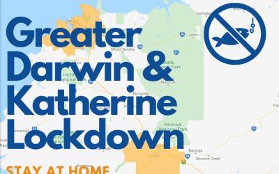 Darwin and Katherine COVID Lockdown